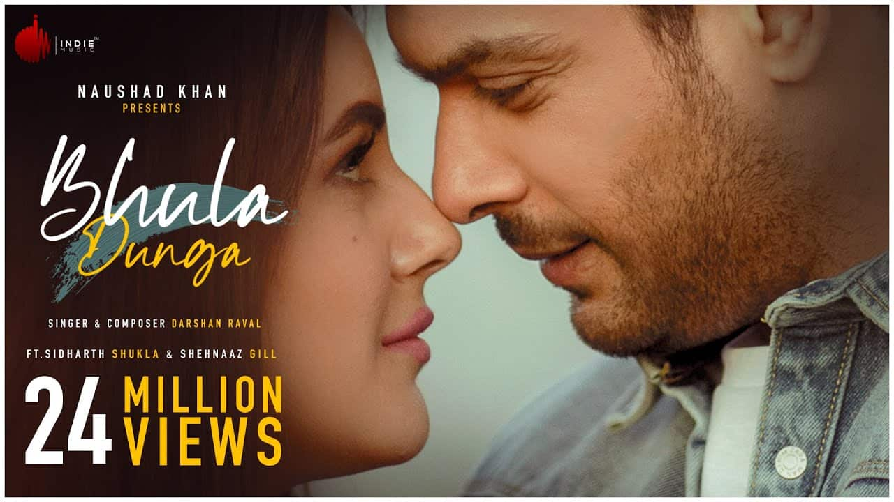 Sidharth Shukla | Bhula Dunga lyrics | Darshan Raval